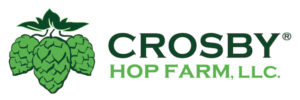 Crosby Hop Farm Hop Cluster Logo Registered